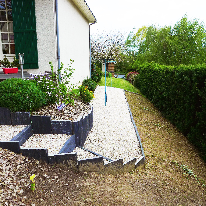 Réaménagement d'un jardin d'accueil à Chalonnes sur Loire 49