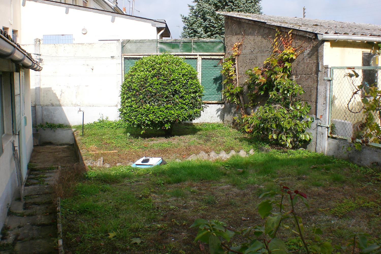 Jardin Trelaze Sud  avant travaux paysagers 1