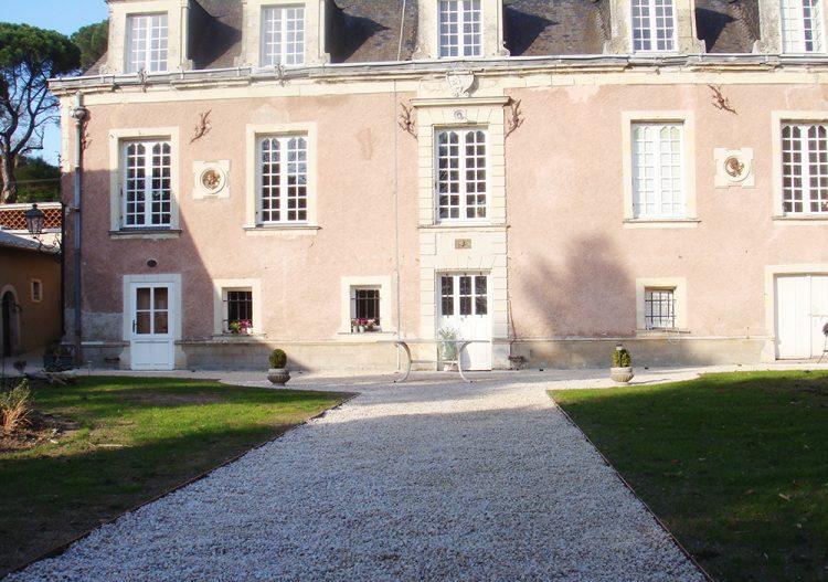 Jardin de propriete La Possonniere 49 apres travaux paysagers