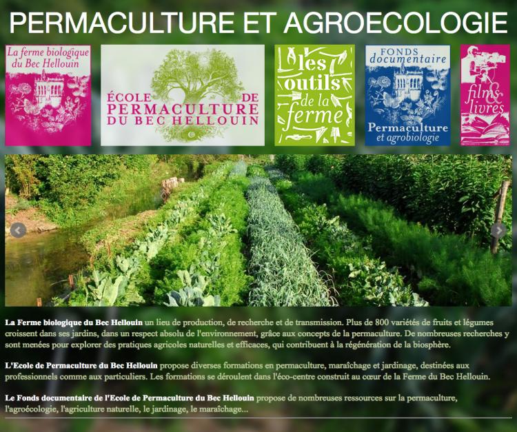 La ferme du bec hellouin permaculture et agroecologie