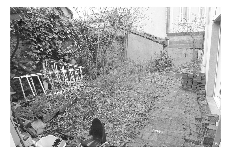 projet de jardin paysager en centre ville l 39 atelier au fond du jardin. Black Bedroom Furniture Sets. Home Design Ideas