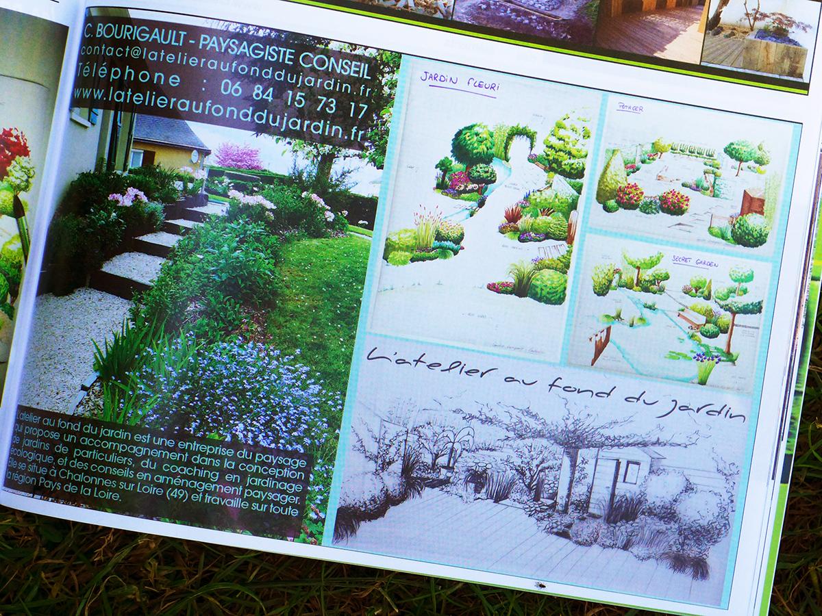 L'atelier au fond du jardin dans la presse