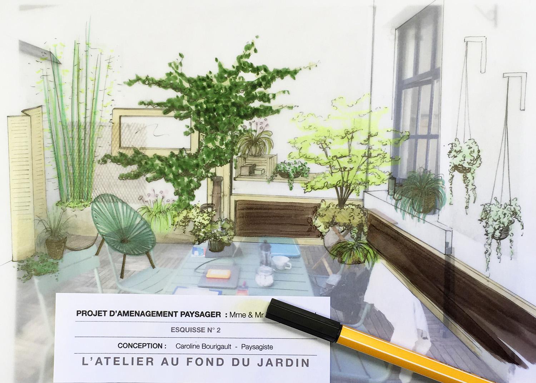 Patio terrasse